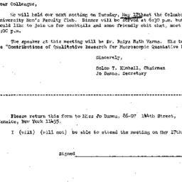 Correspondence, 1966-05-05....