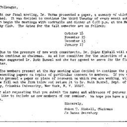 Correspondence, 1966-05-23....