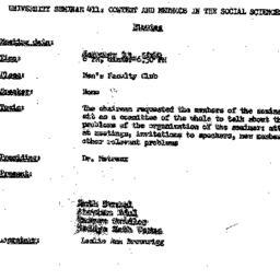 Minutes, 1969-01-23. Conten...