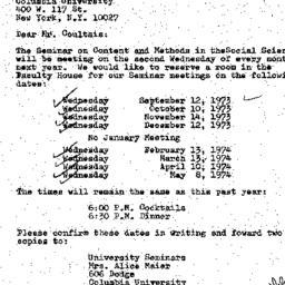 Correspondence, 1974-06-11....