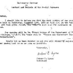 Correspondence, 1974-10-26....
