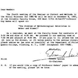 Correspondence, 1981-11-23....
