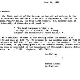 Correspondence, 1983-06-14....