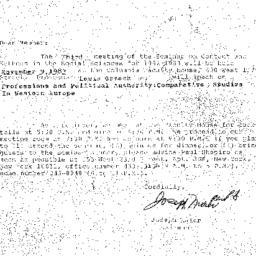 Correspondence, 1983-10-09....