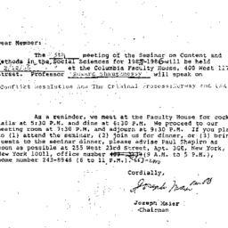 Correspondence, 1985-12-10....