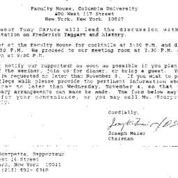 Announcements, 1987-11-11. ...
