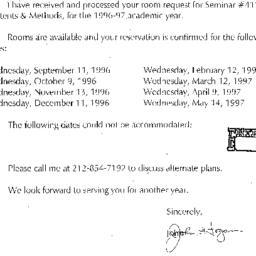Correspondence, 1997-07-10....