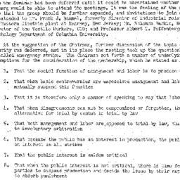 Minutes, 1949-02-10. Labor,...