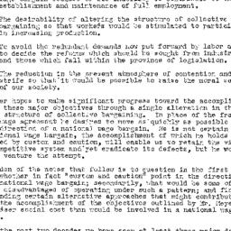 Handouts, 1950-02-28. Labor...