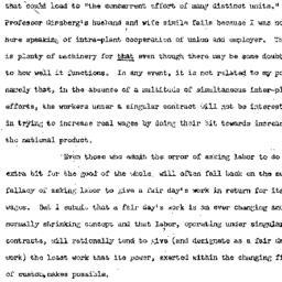 Handouts, 1949-12-13. Labor...