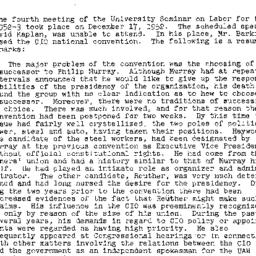Minutes, 1952-12-17. Labor,...