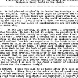 Minutes, 1958-04-24. Labor,...