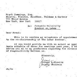 Correspondence, 1969-06-27....