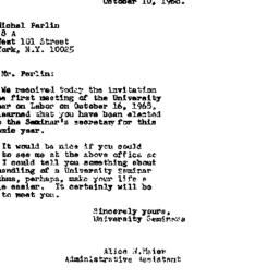 Correspondence, 1968-10-10....