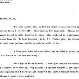 Announcements, 1969-09-18. ...