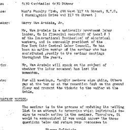 Announcements, 1972-04-18. ...