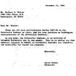 Correspondence, 1988-12-02....