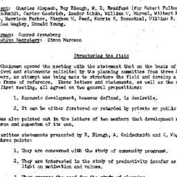 Minutes, 1954-11-23. Develo...