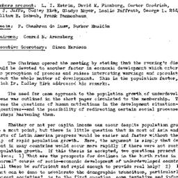 Minutes, 1957-03-05. Develo...