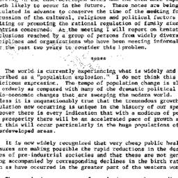 Speaker's paper, 1957-03-05...
