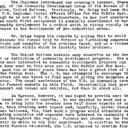 Minutes, 1958-03-18. Develo...