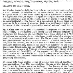 Minutes, 1961-05-02. Develo...