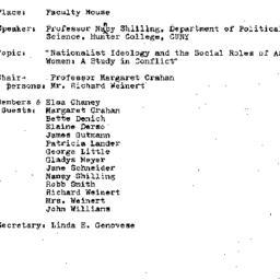 Minutes, 1973-03-08. Develo...