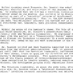 Minutes, 1977-03-22. Develo...