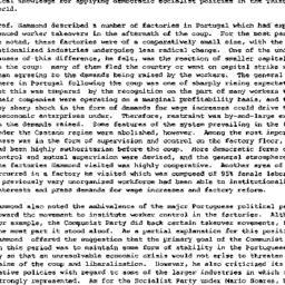 Minutes, 1981-05-05. Develo...