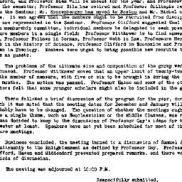 Minutes, 1963-10-16. Eighte...