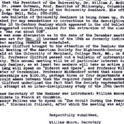 Minutes, 1970-10-08. Eighte...
