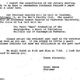 Announcements, 1972-01-25. ...