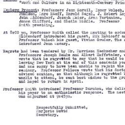 Minutes, 1978-03-09. Eighte...