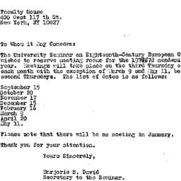 Announcements, 1978-05-17. ...