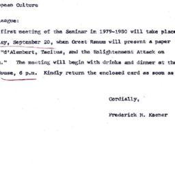 Announcements, 1979-09-04. ...