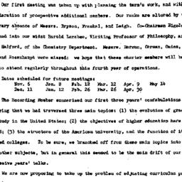Minutes, 1953-10-23. Higher...