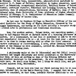 Announcements, 1956-09-17. ...