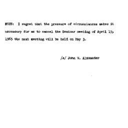 Correspondence, 1965-04-19....