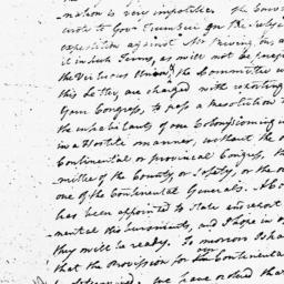 Document, 1775 December 14