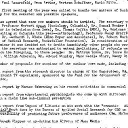 Minutes, 1958-10-10. Public...