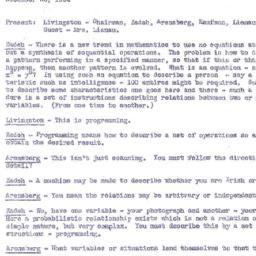 Minutes, 1954-12-20. Organi...