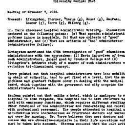 Minutes, 1955-11-07. Organi...