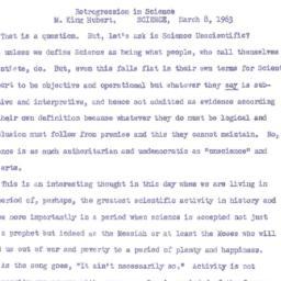 Speaker's paper, 1963-03-19...