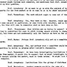 Minutes, 1955-01-13. Social...
