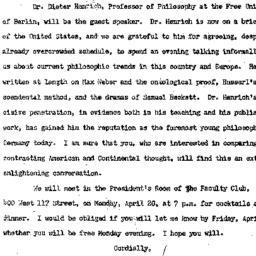 Announcements, 1964-04-13. ...