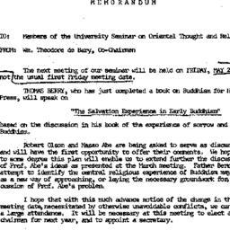 Announcements, 1966-05-20. ...
