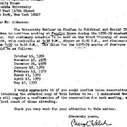 Correspondence, 1979-05-11....