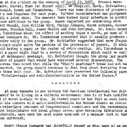 Minutes, 1957-04-23. Americ...