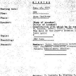 Background paper, 1971-01-1...