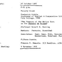 Background paper, 1976-10-2...